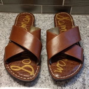 Sam Edelman Kora leather slides
